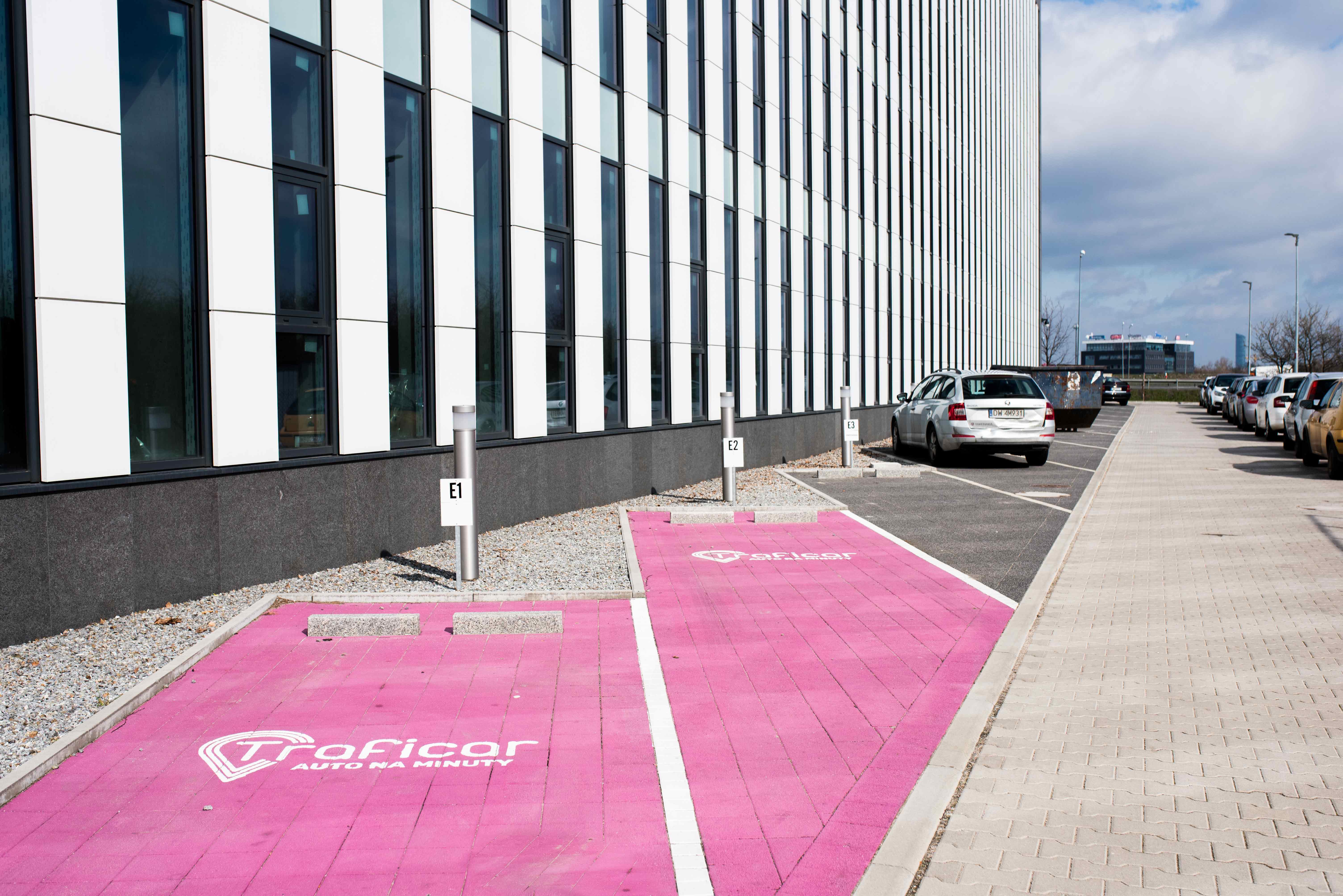 Transport Car sharing Traficar do Bielany Business Point